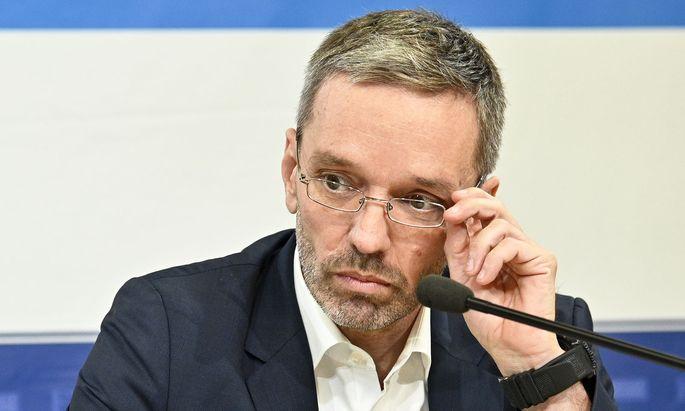 Herbert Kickl möchte wieder Innenminister werden