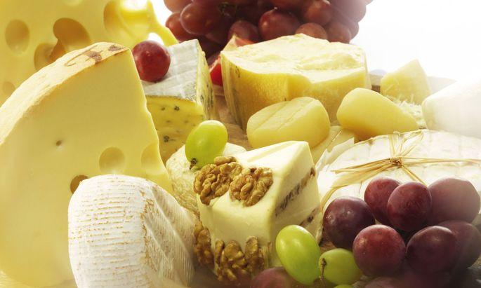 Köstliche Käsesorten