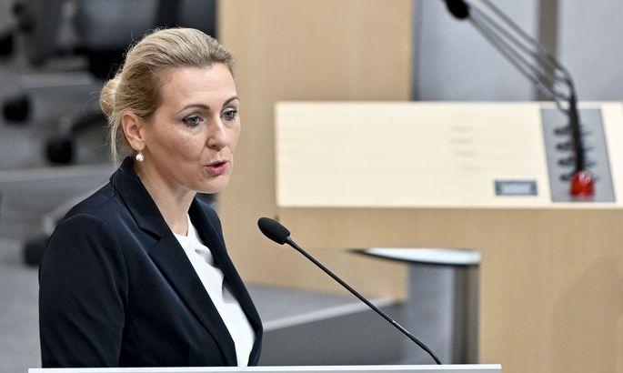 Christine Aschbacher ist am Wochenende als Arbeitsministerin zurückgetreten
