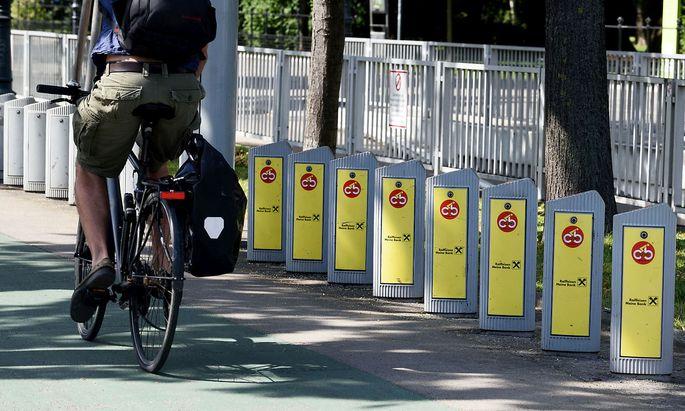 Die Citybike-Stationen werden abgebaut.