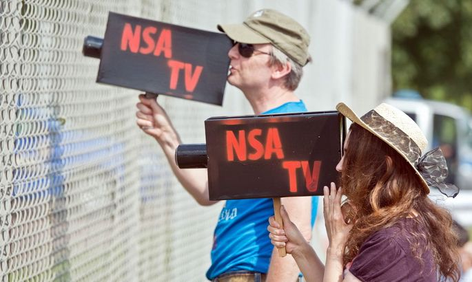 GERMANY PROTEST NSA
