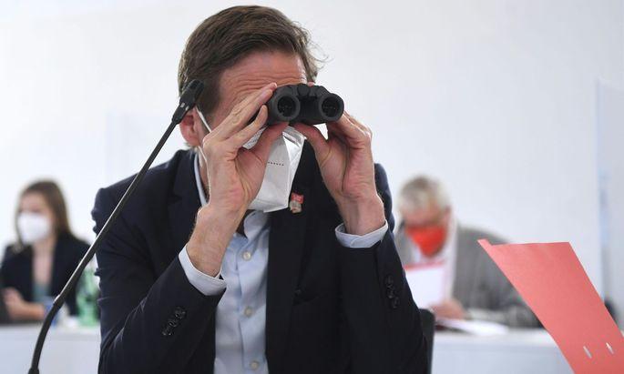 Ginge es nach ihm, gäbe es noch viel aufzudecken: Kai Jan Krainer, SPÖ-Fraktionsführer im U-Ausschuss.