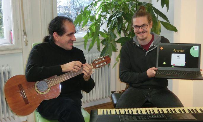 Die Software ermöglicht einen Lernfortschritt zu Hause auch ohne Musiklehrer.