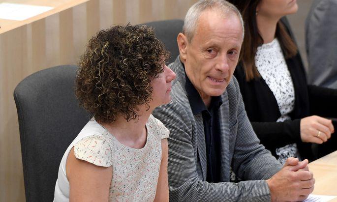 Martha Bißmann und Parteigründer Peter Pilz.