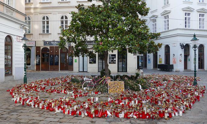 Der Desider-Friedmann-Platz in der Wiener Innenstadt