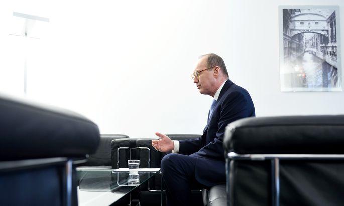 ÖVP-Spitzenkandidat Othmar Karas.