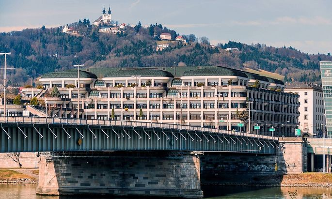 Der P�stlingberg in Linz Ober�sterreich �sterreich Im Stadtteil Urfahr McPWOD McPWOD