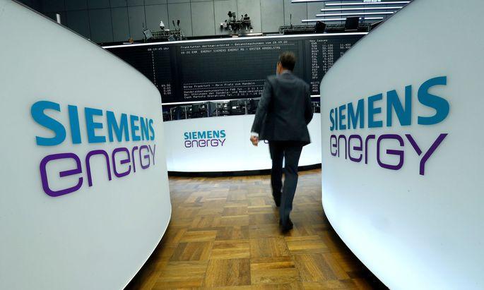 Siemens Energy rückt in die Topliga der Deutschen Börse auf (Archivbild).