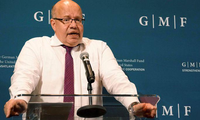 Wirtschaftsminister Peter Altmaier: Was wir brauchen: mehr Zusammenarbeit und nicht mehr Konflikt