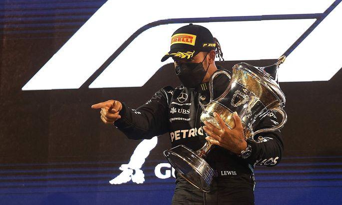 Lewis Hamilton feierte in Bahrain seinen bereits fünften Sieg und den 96. seiner F1-Karriere – beides Bestmarken.
