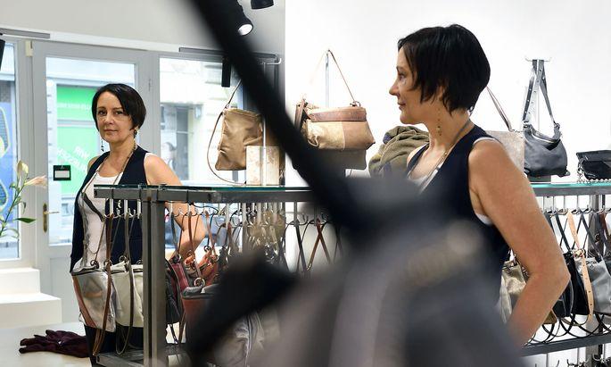 Die Taschendesignerin Ina Kent.