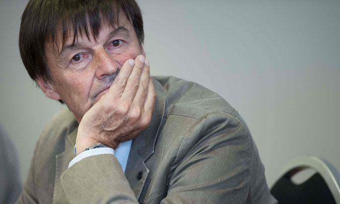 Ex-Minister Nicolas Hulot.