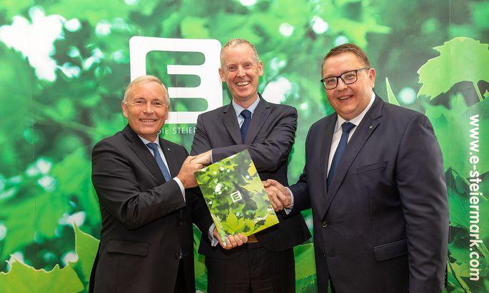 EuropŠische Investitionsbank vergibt zweiten ãGreen LoanÒ in Europa an Energie Steiermark AG: 90 Millionen Euro fŸr Klimaschutz