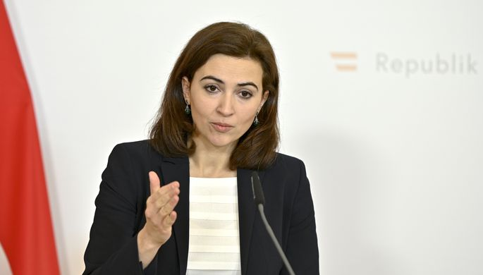 Justizministerin Alma Zadic