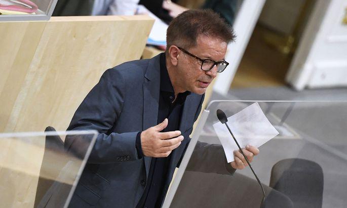 Gesundheitsminister Rudolf Anschober (Grüne)