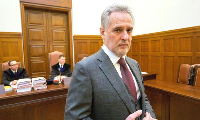 Der ukrainische Oligarch Dmitri (Dmytro) Firtasch