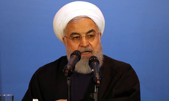 Irans Präsident Hassan Rouhani
