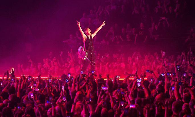 Die Pop-Kultur kann wieder starten (im Bild: Depeche Mode).
