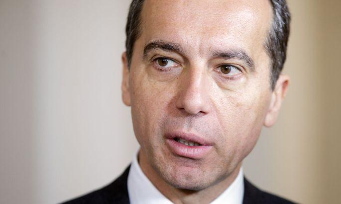 Bundeskanzler Kern fordert Mittelkürzungen für Osteuropäer