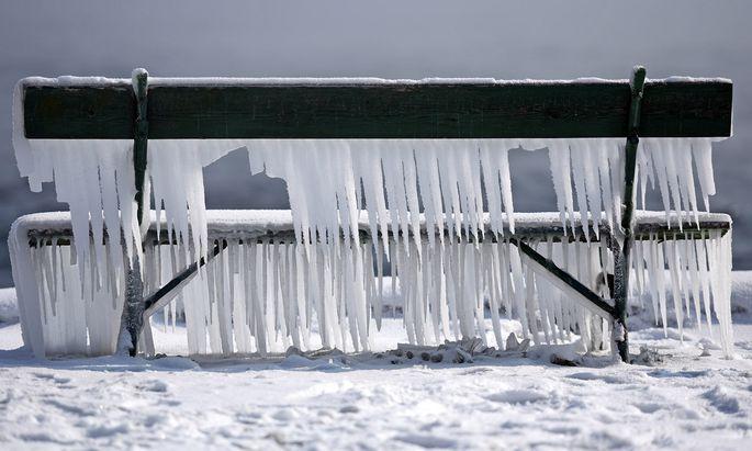 Bei minus 11 Grad verbrennt die Wien Energie in ihren Heizkraftwerken nicht nur Gas, sondern vermutlich auch Geld.