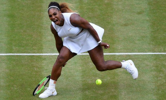 Vielleicht kriegt Serena Williams nie wieder eine Chance, den Slam-Rekord einzustellen