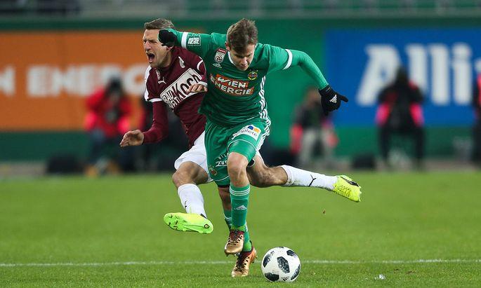 Rapid gegen Mattersburg
