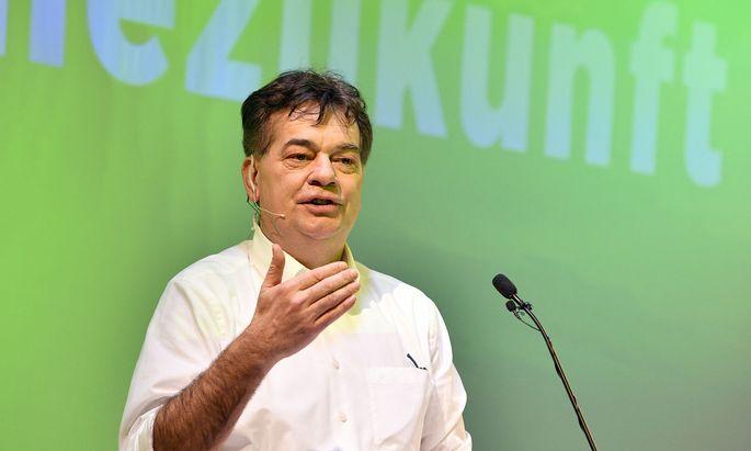 Parteichef Werner Kogler
