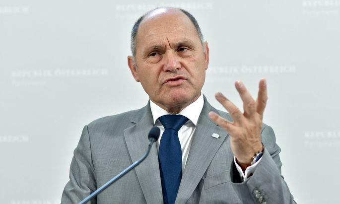 Nationalratspräsident Wolfgang Sobotka (ÖVP)