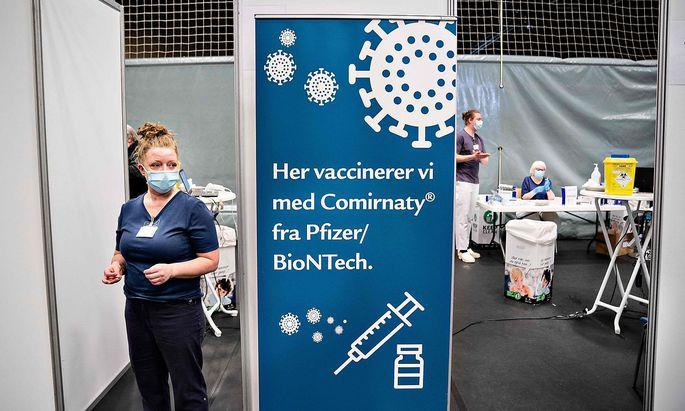 Hier wird der Impfstoff von Biontech/Pfizer verimpft - und zwar in Dänemark mittlerweile fast ausschließlich.