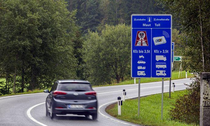 Es geht um eine Änderung des Bundesstraßen-Mautgesetzes.