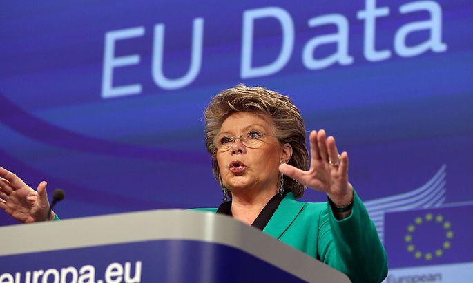 Vorstoß für eigenen EU-Geheimdienst: Justizkommissarin Viviane Reding