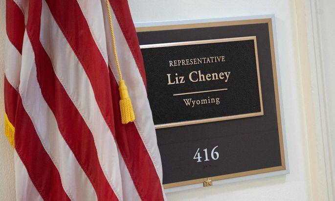 Die Tage von Trump-Kritikerin Liz Cheney als Fraktionschefin der Republiker dürften gezählt sein