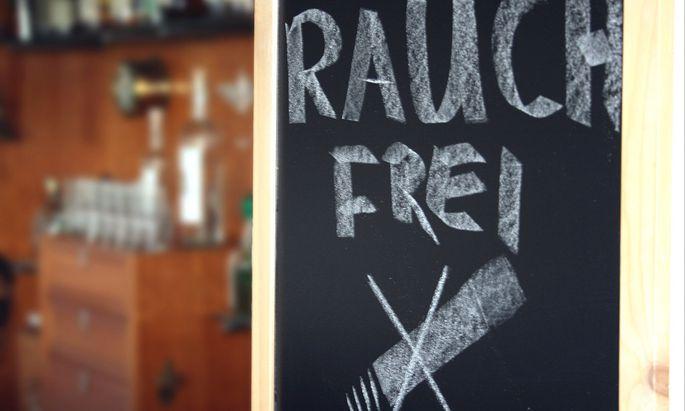 Rauchfreie Zone - smoke free area