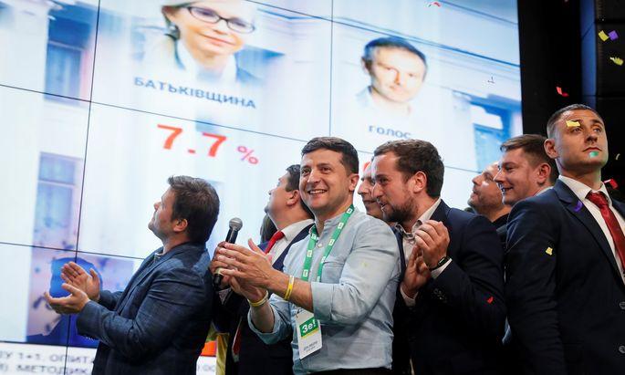 Der Politiker Wolodymyr Selenskij wirkt im postsowjetischen Raum wie eine Frischzellenkur