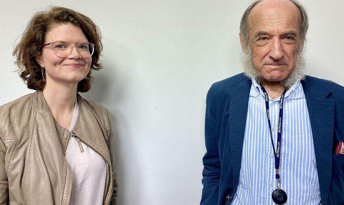 Katharina T. Paul und Hans Winkler.