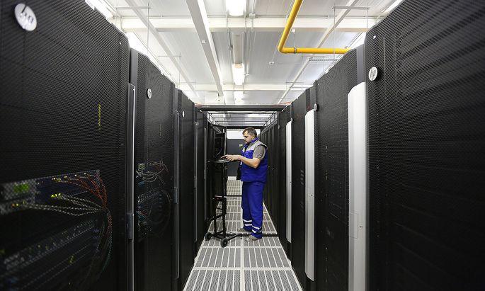 Symbolbild eines Server-Raums.