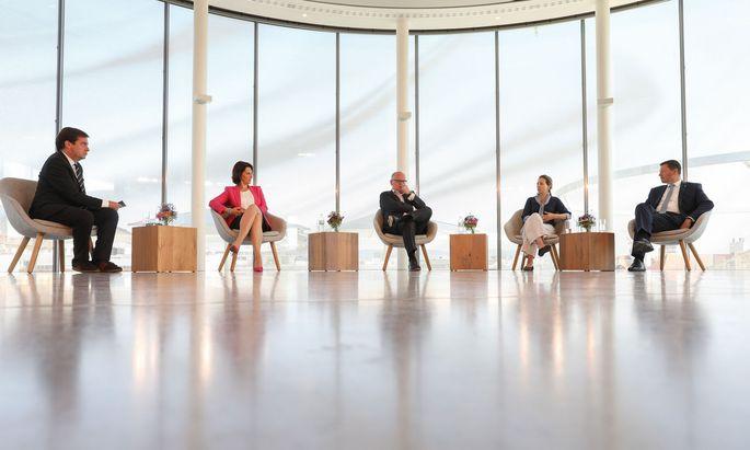 """Zukunftsdebatte beim Europa Kongress von """"Presse"""" und Erste Group."""