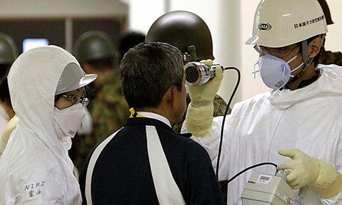 Radioaktiv verseucht Japan