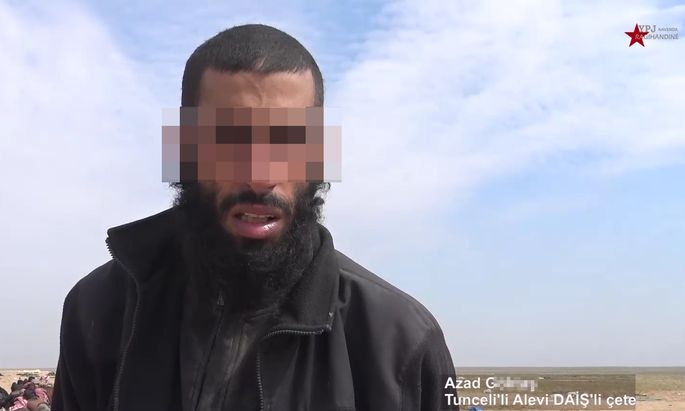 Azad G. reiste aus Wien nach Syrien, um für den IS zu kämpfen.