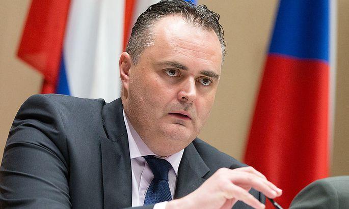 Verteidigungsminister Hans Peter Doskozil