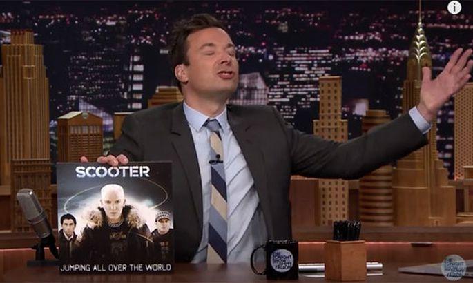 Jimmy Fallon Scooter