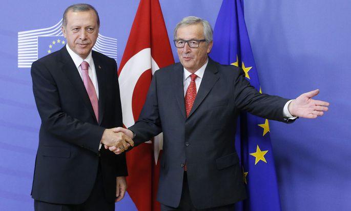 Erdogan, Juncker