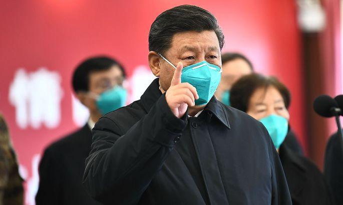 Xi Jinping besuchte erstmals seit dem Coronavirus-Ausbruch die besonders betroffene Provinz Hubei.