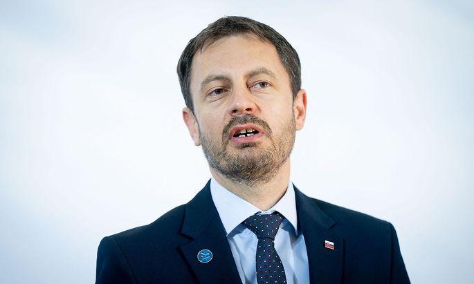 Eduard Heger könnte bald neuer Ministerpräsident der Slowakei sein.