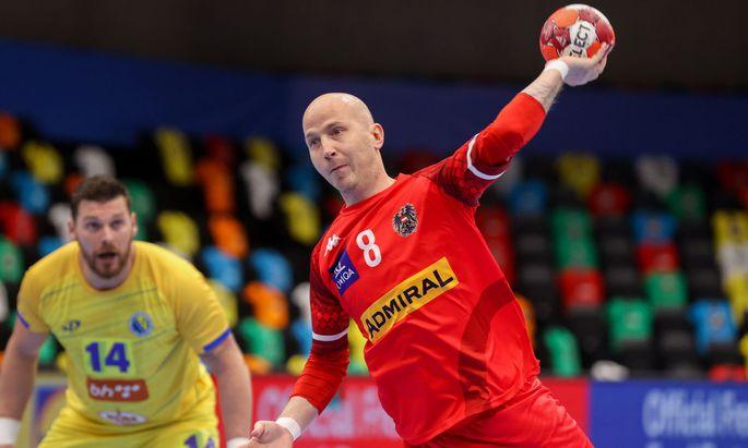 HANDBALL - EHF EM 2022, quali, AUT vs BIH