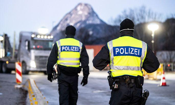 Grenzkontrollen in Kiefersfelden