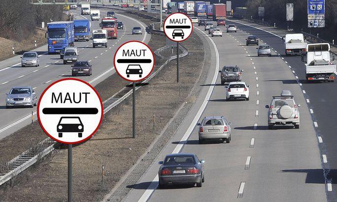 EUGH-Geplante PKW Maut verstoesst gegen EU Recht. Archivfoto: Medien:Union und SPD vereinbaren die Pkw-Maut.PKW Maut au