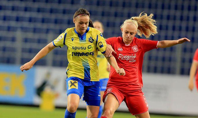 St. Pölten in der Champions League gegen Twente Enschede