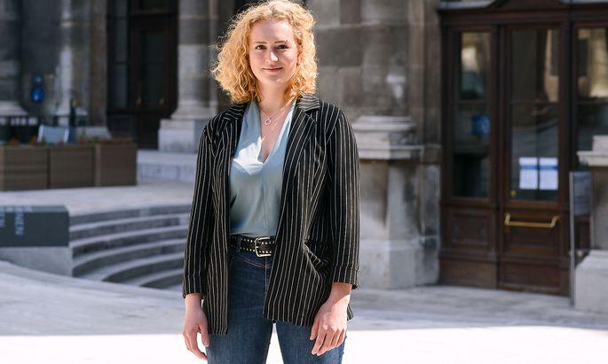 Keya Baier ist Spitzenkandidatin der Grünen und Alternativen StudentInnen (GRAS).