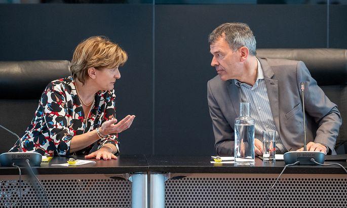 Christine Oppitz-Plörer und Georg Willi